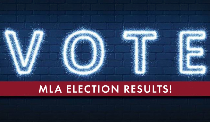 2021 MLA Election Results