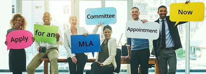 Volunteer for an MLA Committee
