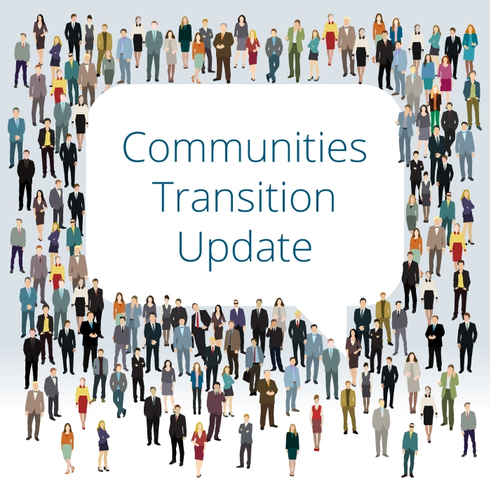 Update on MLA Communities