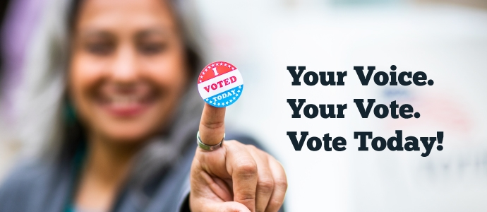 VOTE in the 2020 MLA Election!