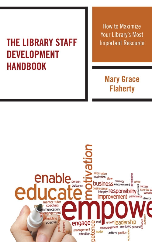 Cover for The Library Staff Development Handbook