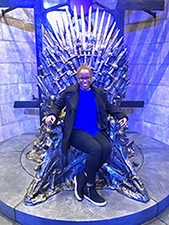Bartley on the Iron Throne